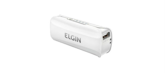 Carregador portátil Elgin Power Bank 2.600 mAh
