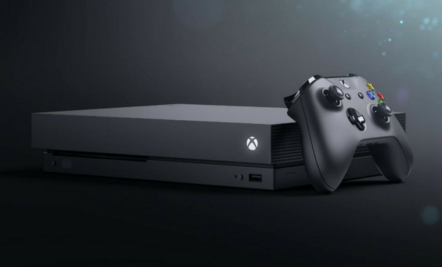 Design do Xbox One X