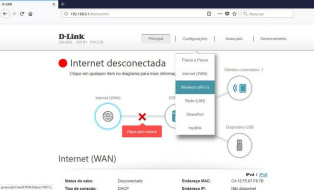 Como Mudar a Senha do WiFi 4