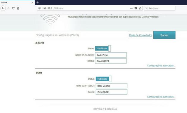 Como Mudar a Senha do WiFi 7