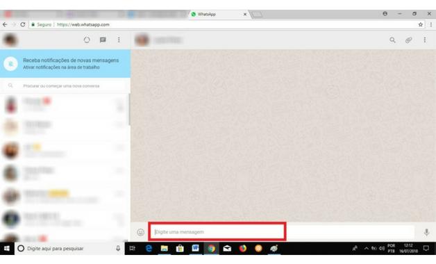 Como usar WhatsApp no PC décimo primeiro passo