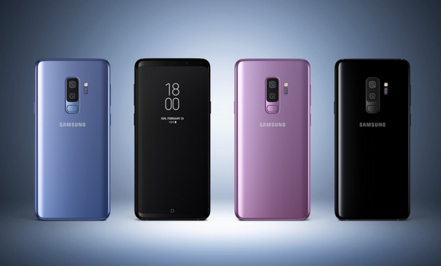 Design do Galaxy S9 Plus