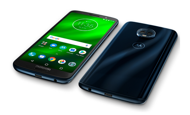 Design Moto G6 Plus
