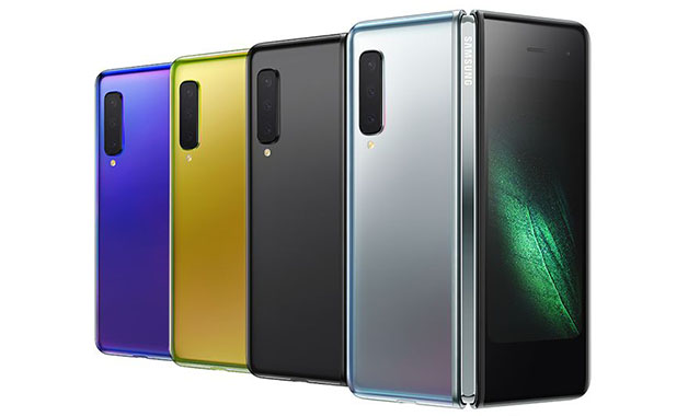 Cores do Galaxy Fold