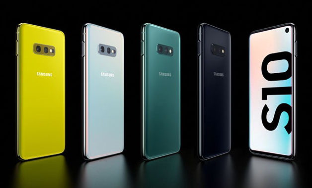 Cores do Galaxy S10e