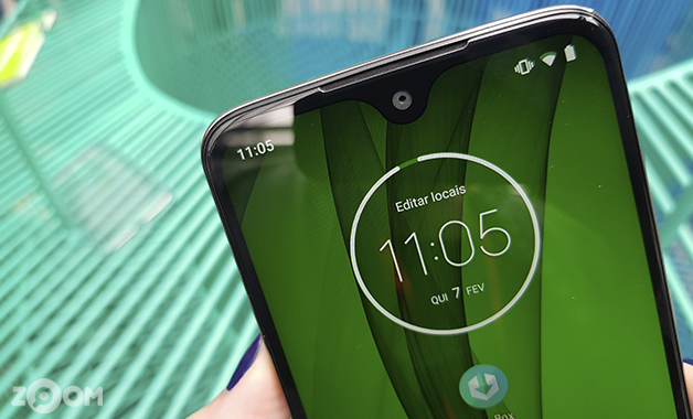Notch Moto G7 Plus