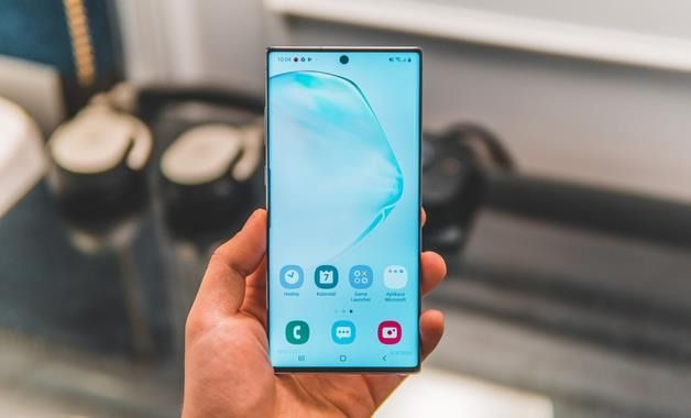 Galaxy Note 10 Plus Display AMOLED