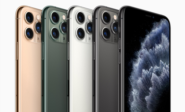 Cores do iPhone 11 Pro Max