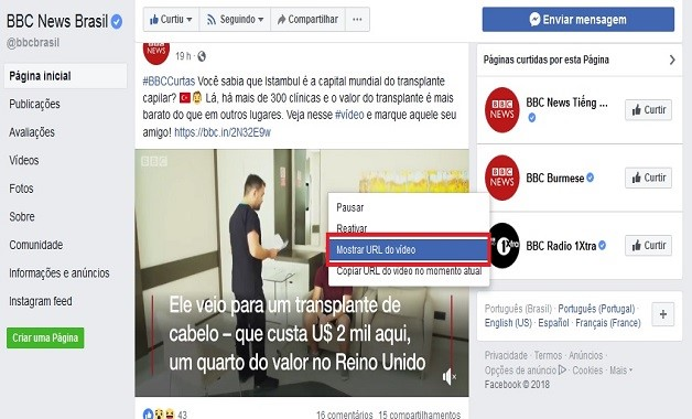 Como baixar vídeo do Facebook no Mozilla Firefox