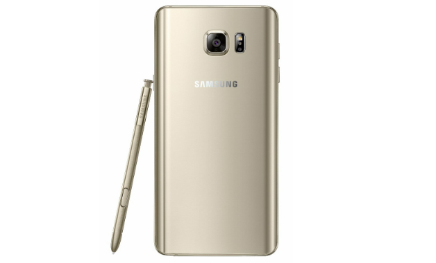 Traseira do Samsung Galaxy Note 5