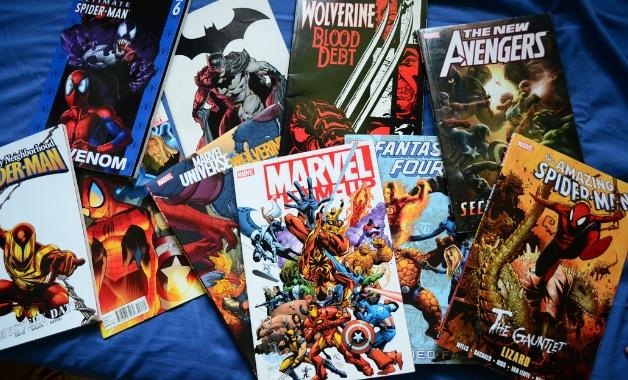 Quadrinhos Universo Marvel